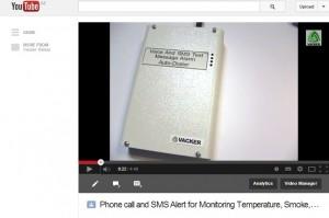 Temperature monitoring alert device